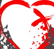 Blood Wings Sticker