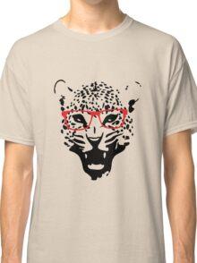 Nerdy Leopard Classic T-Shirt