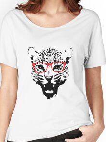 Nerdy Leopard Women's Relaxed Fit T-Shirt