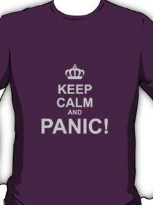 Keep Calm and Panic T-Shirt