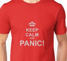 Keep Calm and Panic Unisex T-Shirt