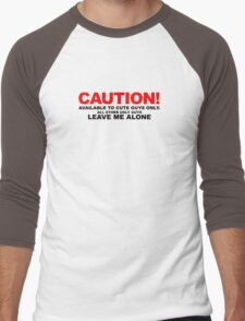 Available to cute guys only Men's Baseball ¾ T-Shirt