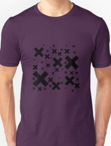 Black Emo Crosses T-Shirt