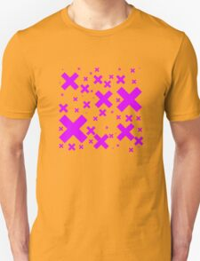 Pink Emo Crosses T-Shirt