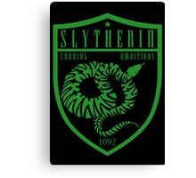 Slytherin Crest Canvas Print