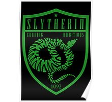 Slytherin Crest Poster