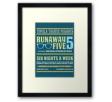 Live at Fourside Framed Print