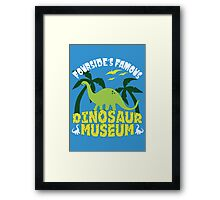 Dinosaur Museum Framed Print