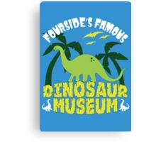 Dinosaur Museum Canvas Print