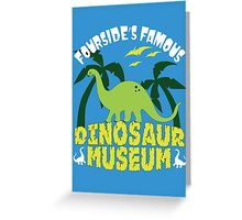 Dinosaur Museum Greeting Card