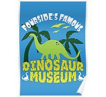 Dinosaur Museum Poster