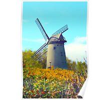 Bidston Windmill 2 Poster