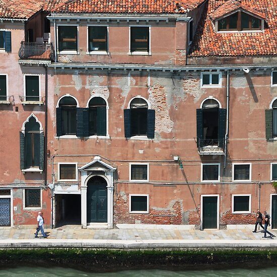 Facade on Grand Canal by Thomas Barker-Detwiler