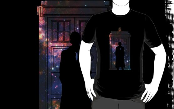 Tardis in space 10th Doctor by bomdesignz