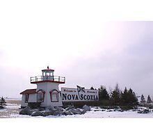 Welcome to Nova Scotia Photographic Print