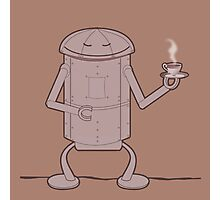 Coffee Robot Photographic Print