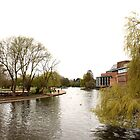 River Avon and Royal Shakespeare Company by noomrevlis