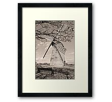 Bidston Windmill in HDR Framed Print