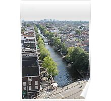 View from Westerkerk Tower Poster