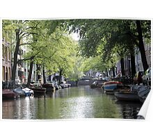 Amsterdam Canals Poster