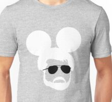 George Mouse (White) Unisex T-Shirt