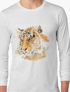 Tiger. The largest feline in the world. Long Sleeve T-Shirt