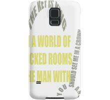 The man with the key is KING Samsung Galaxy Case/Skin