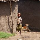 Masai Tribe - Child  by Charuhas  Images