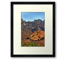 One Lonely Tree Framed Print