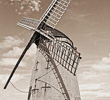 Bidston Windmill HDR2 by DavidWHughes