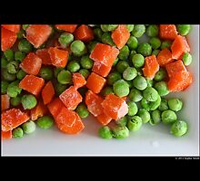 Frozen Vegetables - Peas And Carrots  by © Sophie W. Smith