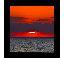 Long Island Sound Sunset - Stony Brook, New York  Photographic Print