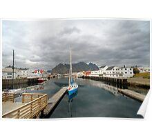 Henningsvær at Lofoten Poster