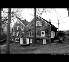 Historic Grist Mill Building - Stony Brook, New York by © Sophie W. Smith
