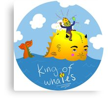 King Of Whales Canvas Print