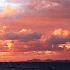 Morning Sunrise Sky over St. Barts by Roupen  Baker