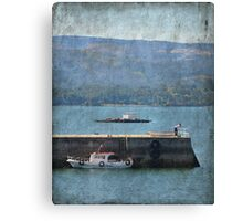 Saturday at the coast Canvas Print