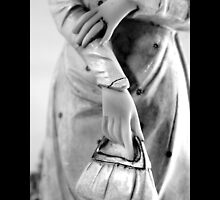 Antique Victorian Figurine Broken Wrist Detail  by © Sophie W. Smith