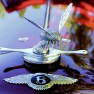 1934 Bentley Drophead, Bumble Bee Ornament by SuddenJim