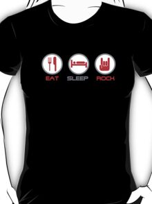 Eat Sleep Rock T-Shirt