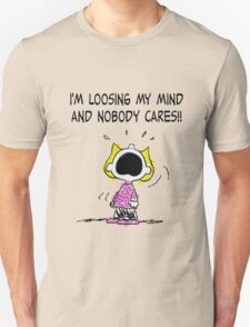 Sally Peanuts Quote Unisex T-Shirt