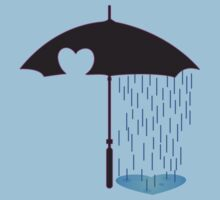 Emo Umbrella by rawrclothing