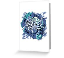 Where Did Yami Leave Me Now? Greeting Card