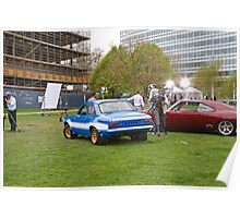 The Cars From Fast And Furious 6 in London Poster