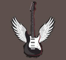 Winged Guitar Kids Clothes