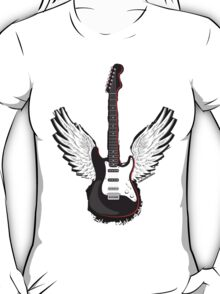 Winged Guitar T-Shirt