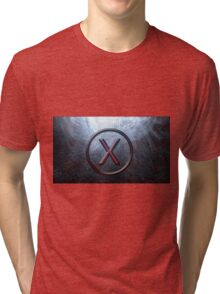 Proxy-Ashes in the ocean (textless) Tri-blend T-Shirt