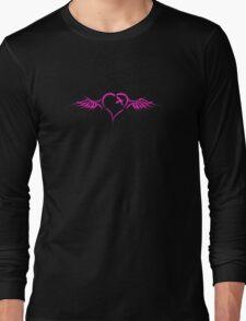 Emo Heart Long Sleeve T-Shirt