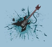 Graffiti Guitar Kids Clothes