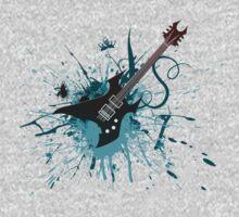 Graffiti Guitar Kids Clothes